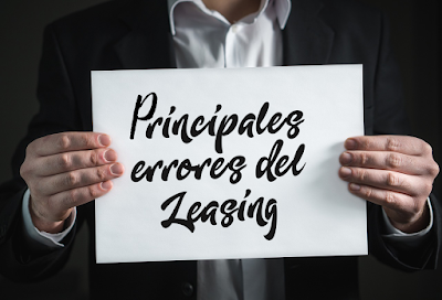Errores del Leasing