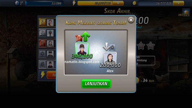 cara cheat criminal case energi