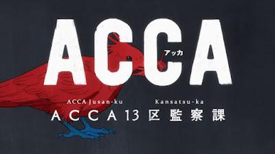 ACCA: 13-ku Kansatsu-ka Subtitle Indonesia [Batch]