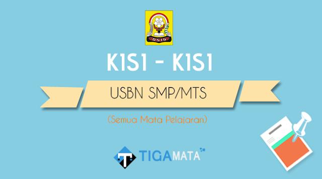 Kisi - Kisi USBN SMP/MTS 2019 Pdf Resmi dari BSNP