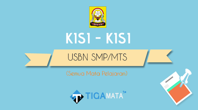 Kisi - Kisi USBN SMP/MTS 2019