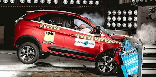Tata Nexon, 5 स्टार पाने वाली पहली भारतीय कार