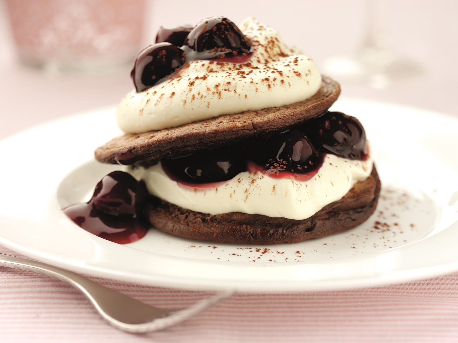 How To Make Black Cherry Chocolate Pancakes