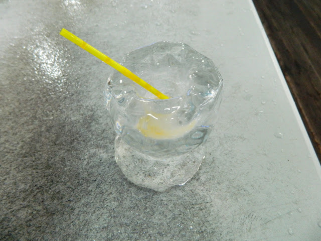 Ice wine glass in Seoul