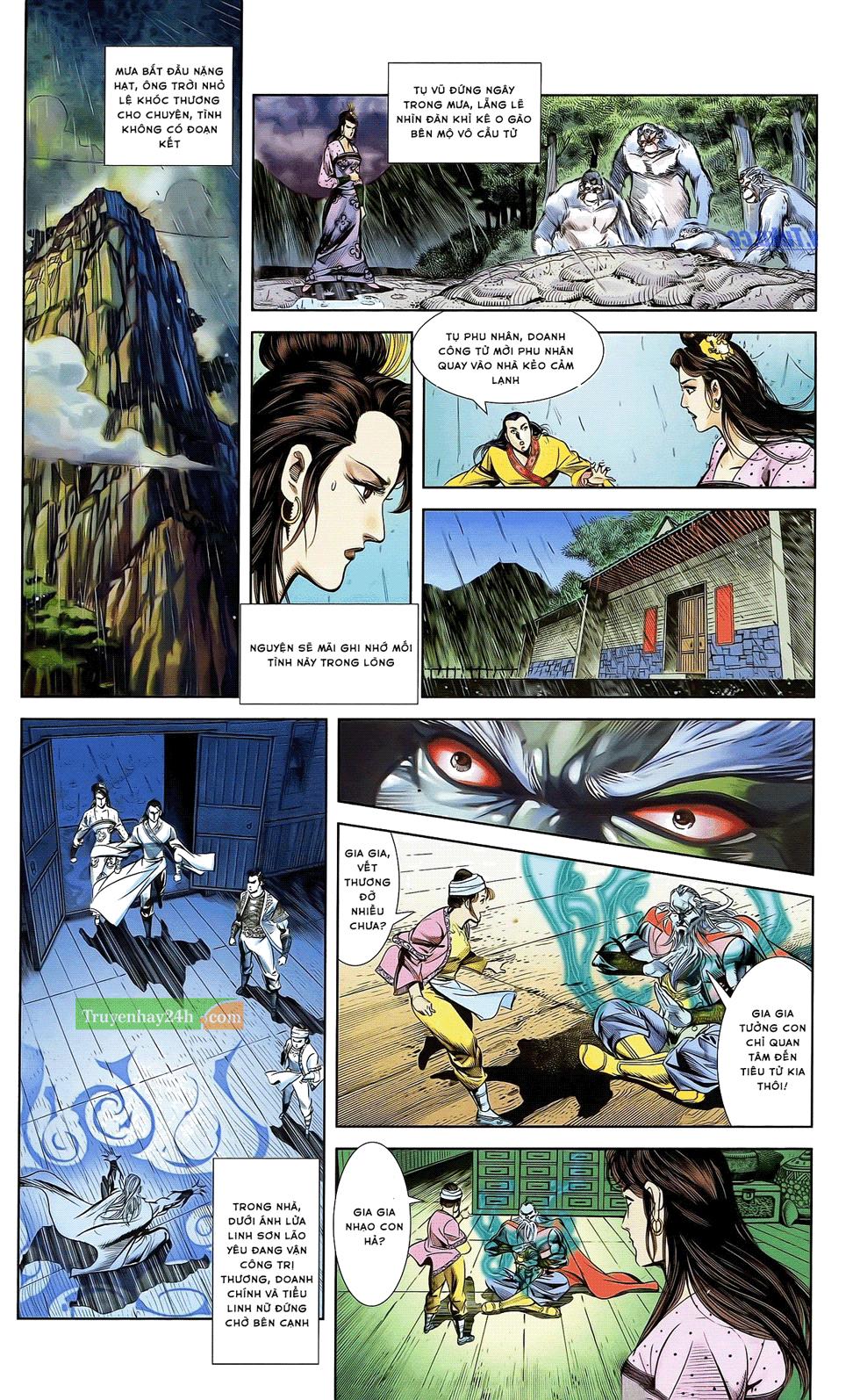 Tần Vương Doanh Chính chapter 21 trang 20