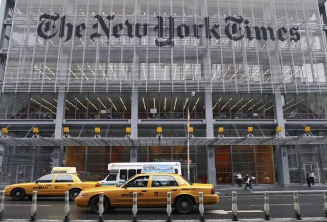 FLOOD OF CONDEMNATIONS OF NEW YORK TIMES FOR ANTISEMITIC CARTOON