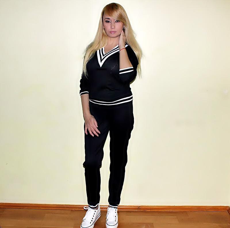 Shopping in DressLily: Спортивный костюм с кедами / обзор, отзывы