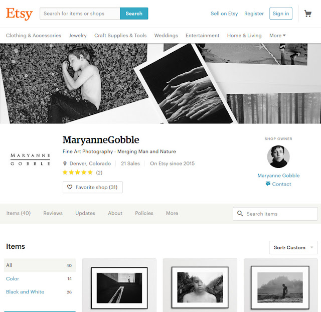 New Etsy Shop Look Example