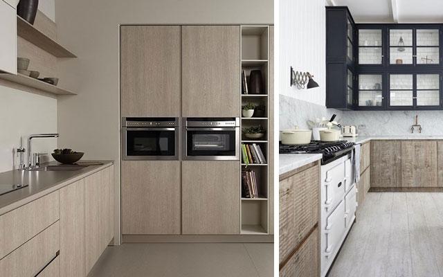 Decotips distribuir la cocina seg n su geometr a for Cocinas pequenas rectangulares