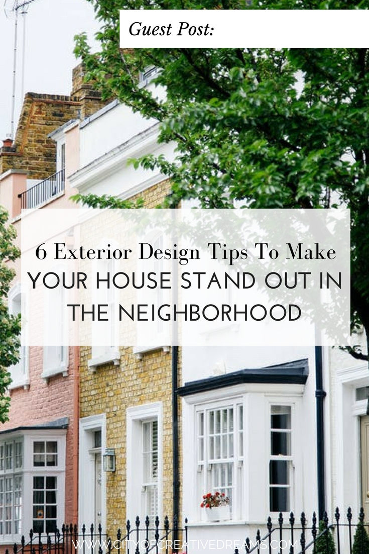 6 Exterior Design Tips To Make Your House Stand Out In The ...