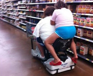 Meanwhile at Walmart Hitchhiker