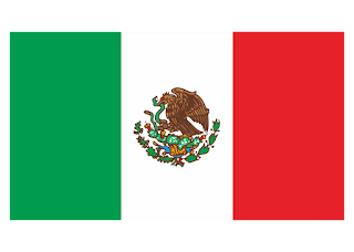 Mexico Flag Logo Vector