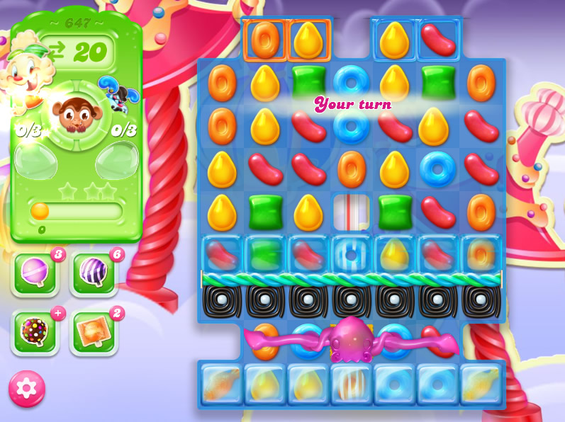 Candy Crush Jelly Saga level 647