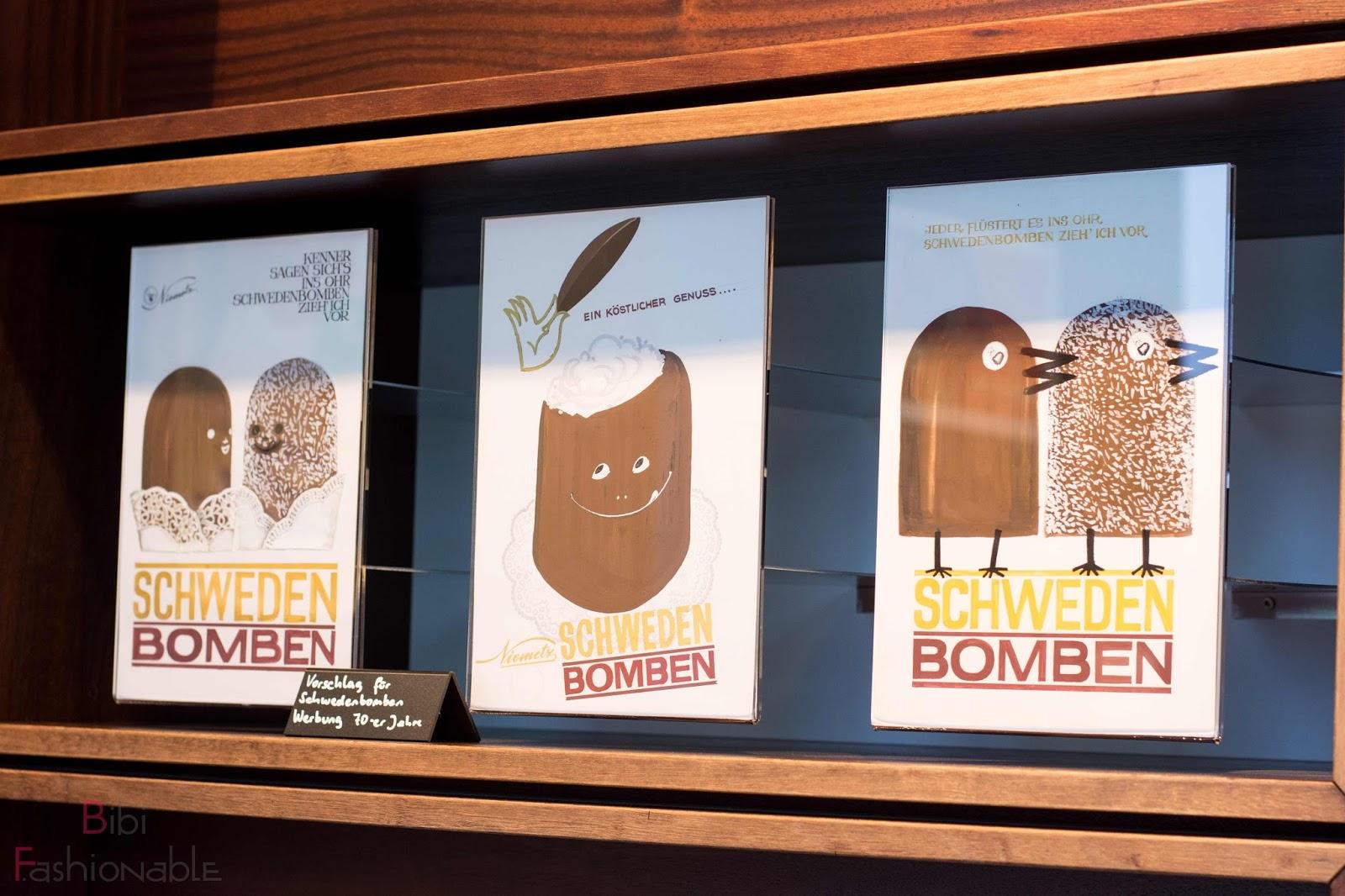 Niemetz Schwedenbombenworkshop Werbung aus 70er