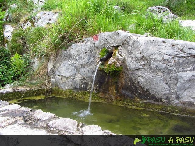 Fuente en la canal de Culiembro