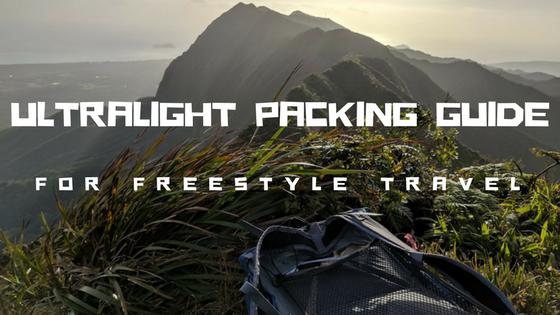 Ultralight Packing