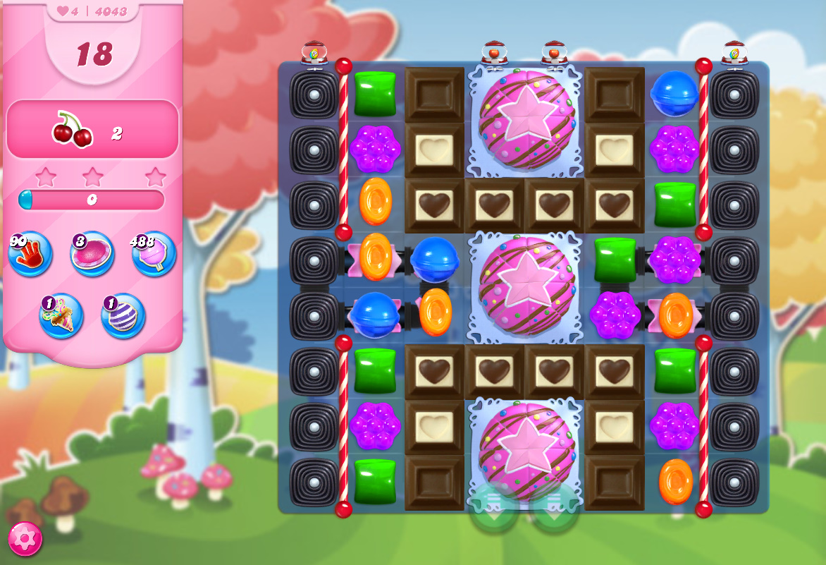 Candy Crush Saga level 4043