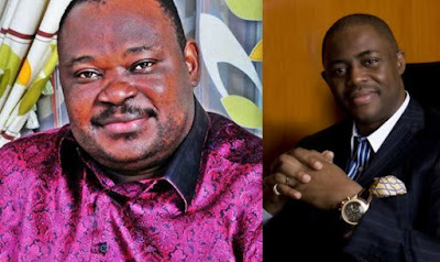 Jimoh Ibrahim and Former Minister of Aviation, Femi Fani-Kayode