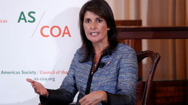 """Embajadora de EE.UU. ante la ONU: """"Es hora de que Maduro se vaya"""""""