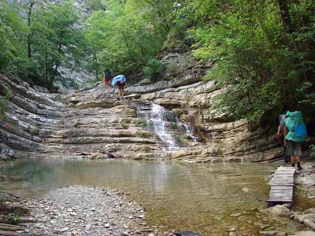 Плесецкие водопады - Каменная лестница
