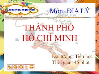 Bài giảng tương tác điện tử thành phố Hồ Chí Minh