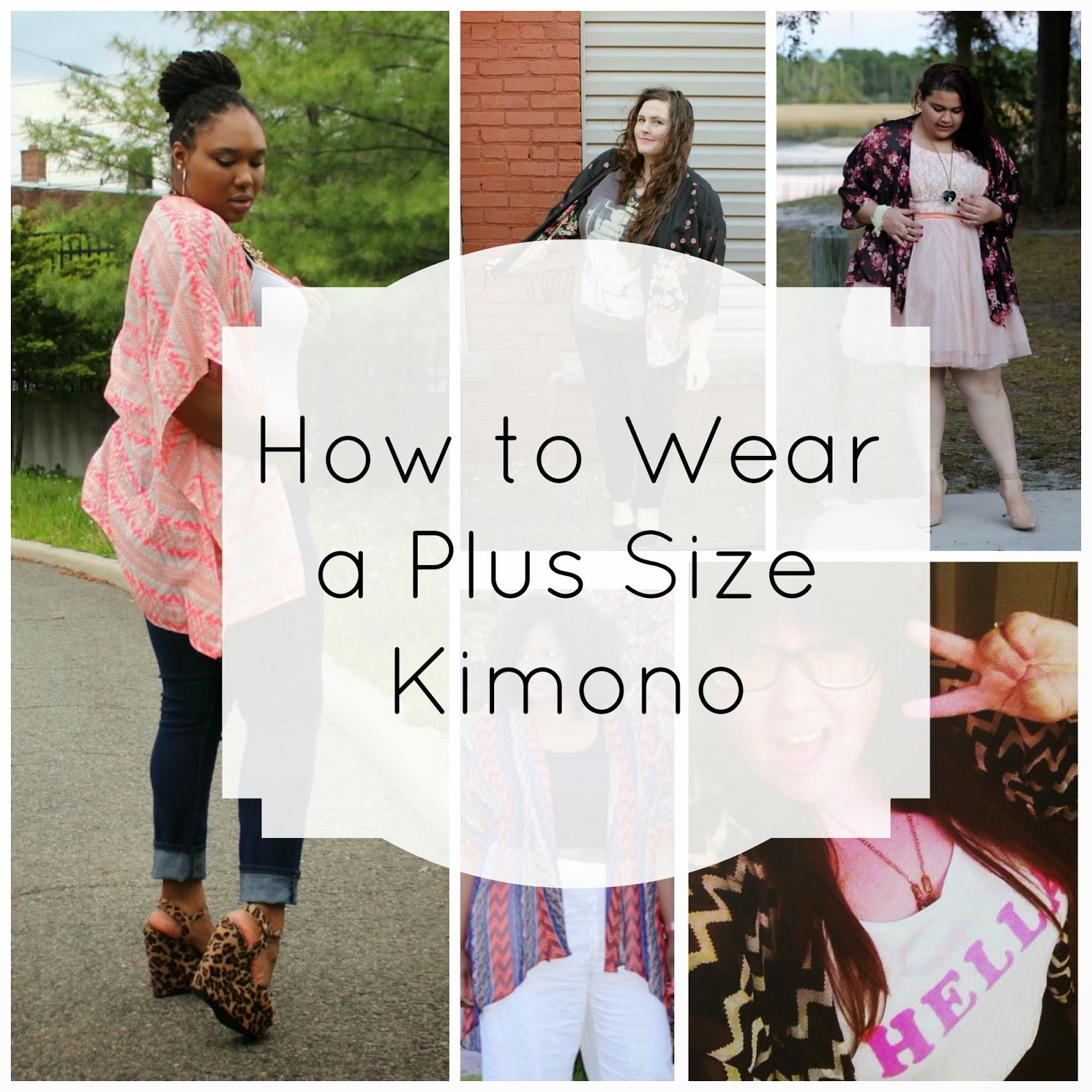 426754b21f7 How to Wear a Plus Size Kimono