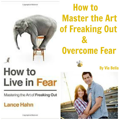 How to Master the Art of Freaking Out & Overcome Fear, Lance Hahn, How to Life in Fear, Book Review, BookLook Bloggers, Fear, Freaking Out, Self Help, Christianity