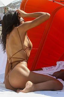 Yovanna Ventura  Asian  wow  in  bikini September 201
