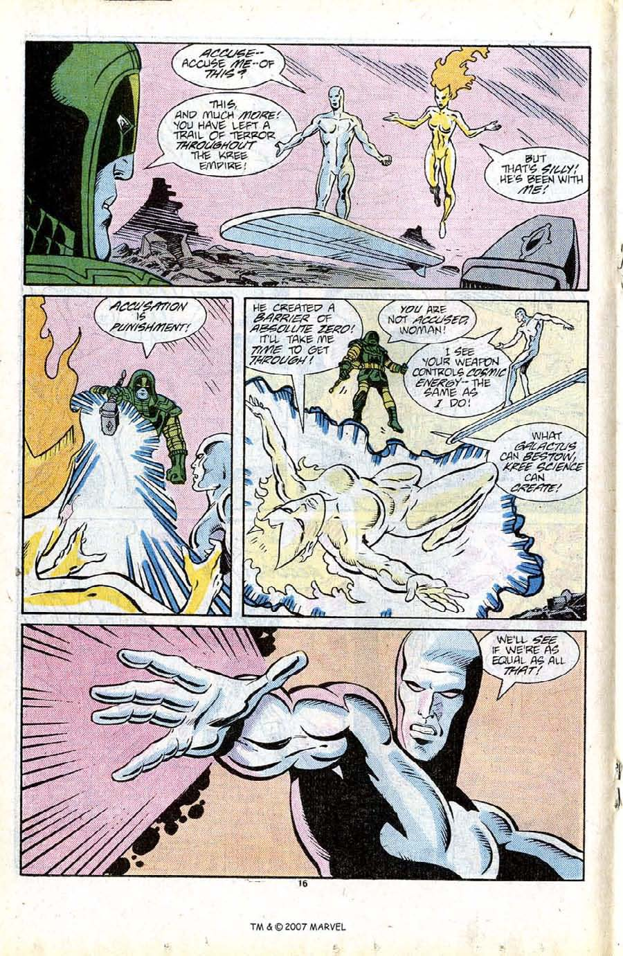 Read online Silver Surfer (1987) comic -  Issue #13 - 18