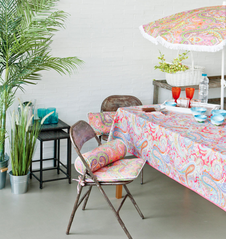 un poco de color para alegrar las terracitas el blog de clementina. Black Bedroom Furniture Sets. Home Design Ideas