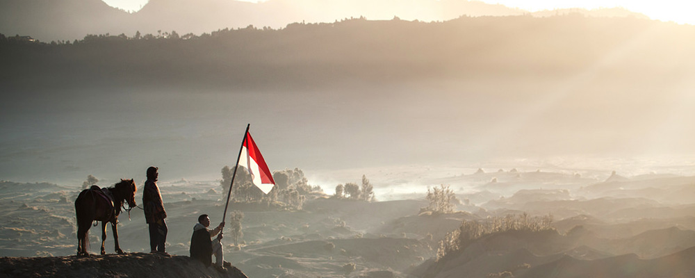 Sunrise Gunung Bromo by Rusli Chang
