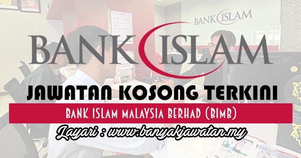 Jawatan Kosong 2017 di Bank Islam Malaysia Berhad www.banyakjawatan.my