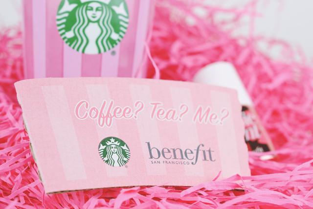 Benefit Cosmetics Starbucks Sleeve