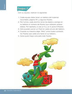Apoyo Primaria desafíos matemáticos Bimestre 1 lección 8 Contemos frijolitos