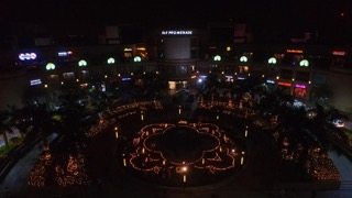 DLF Promenade celebrates 'cracker free' Diwali; Lights up 700 Diyas in Mandala design