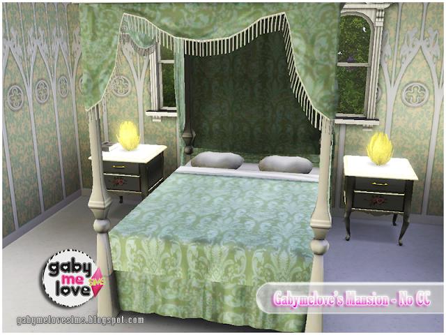 Gabymelove's Mansion |NO CC| ~ Lote Residencial, Sims 3. Habitación Principal.