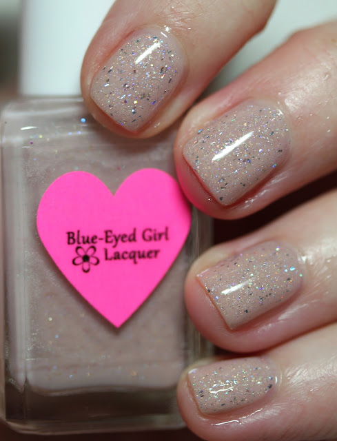 Blue-Eyed Girl Lacquer (Heart)