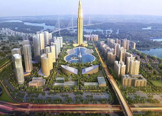Khu trung tâm thương mại sẽ là điểm nhấn cho dự án