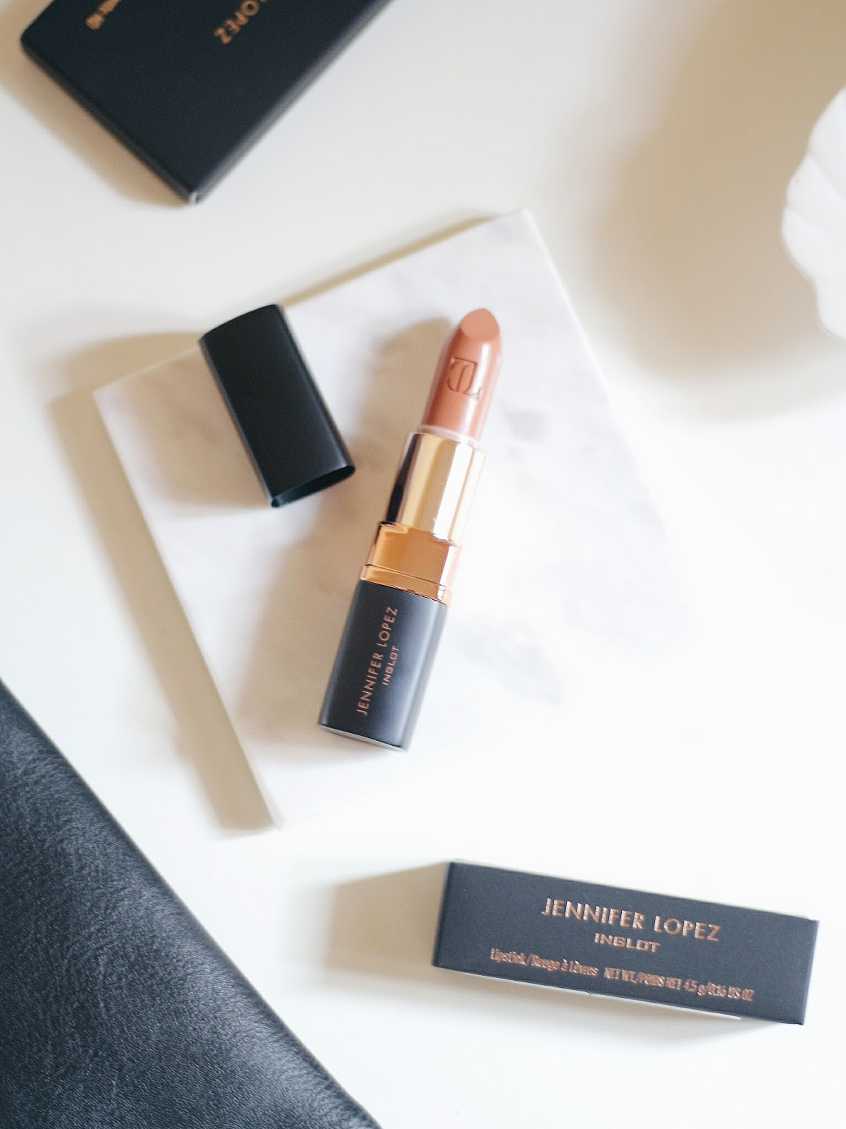 Jennifer Lopez Inglot Lipstick Dolce J203 Review Swatch