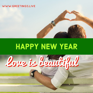 Love greetings on Happy New Year Picture Messages