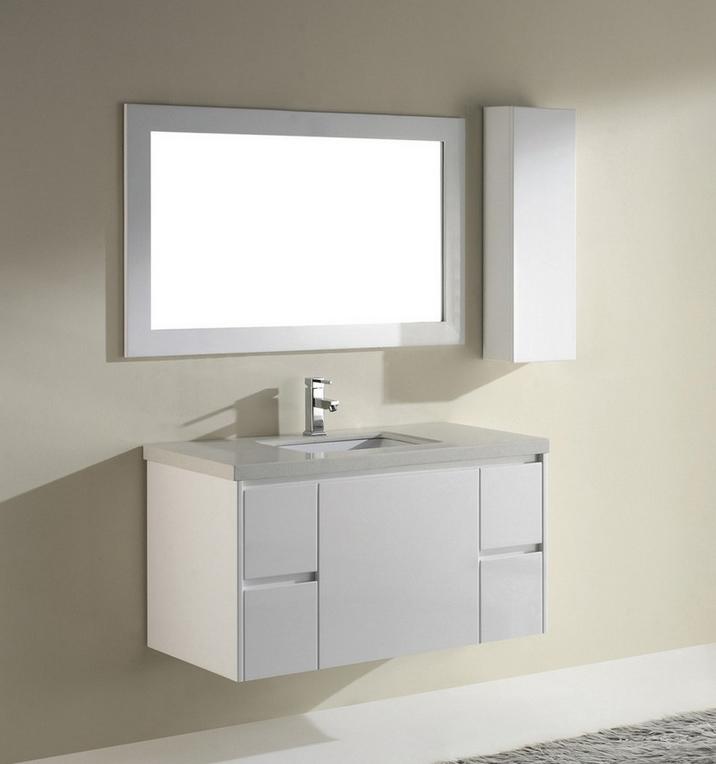 White gloss bathroom furniture - Antique Bathroom Vanities April 2017