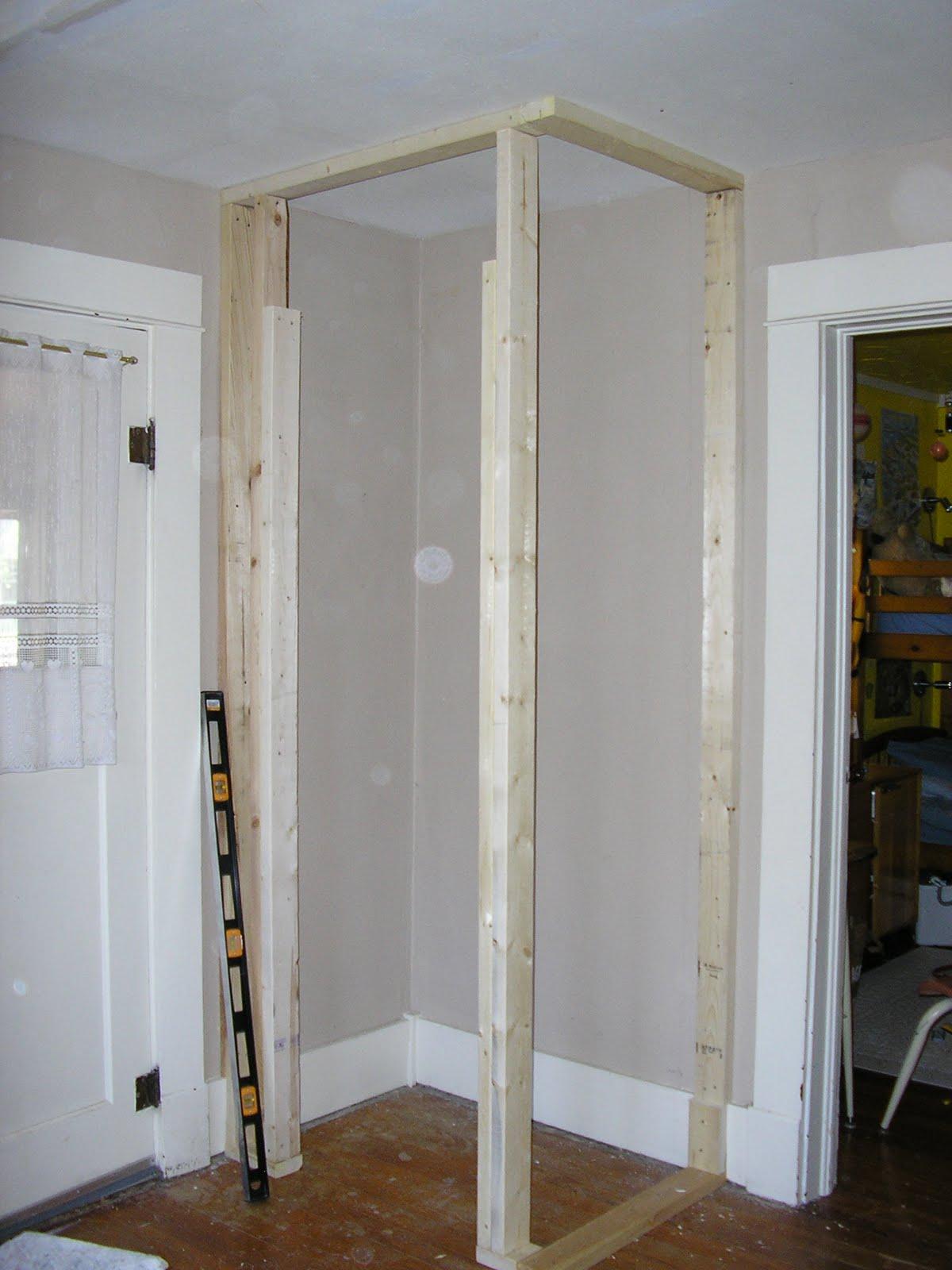 Framing The Corner Closet 1