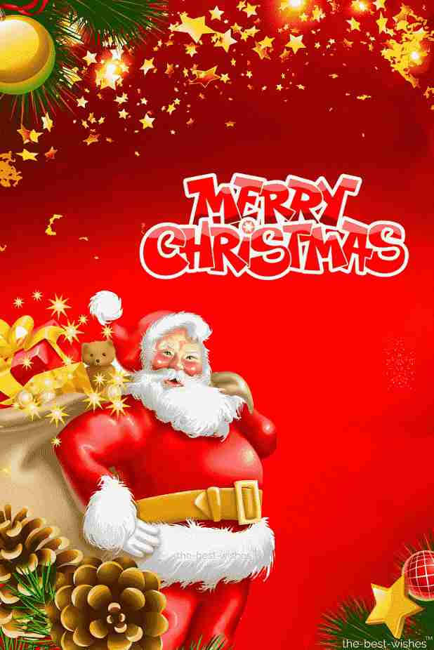 merrychristmas with santa claus