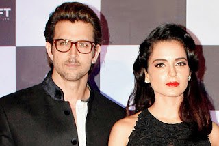 Hrithik Roshan and Kangana ranaut leaked photos
