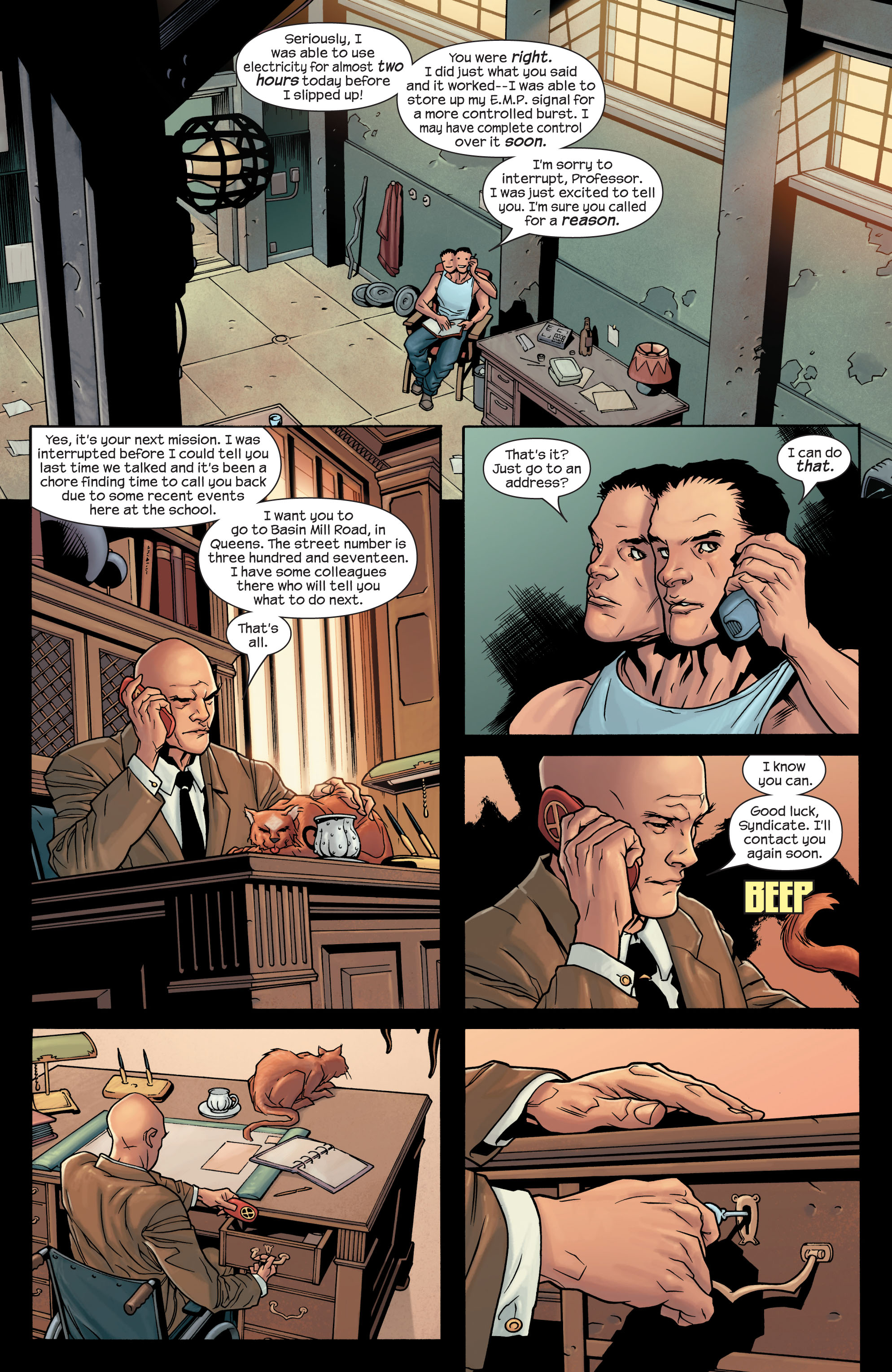 Read online Ultimate X-Men comic -  Issue #77 - 5