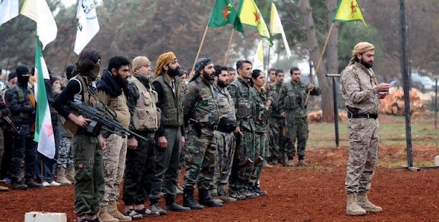"""Πάλι Κούρδοι ανέλαβαν την """"βρόμικη δουλειά"""" στη Συρία…"""