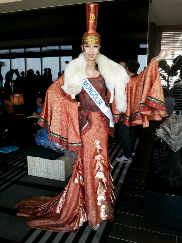 SASHES AND TIARAS.....Miss International 2012: National ... Mongolian Beauty Queen