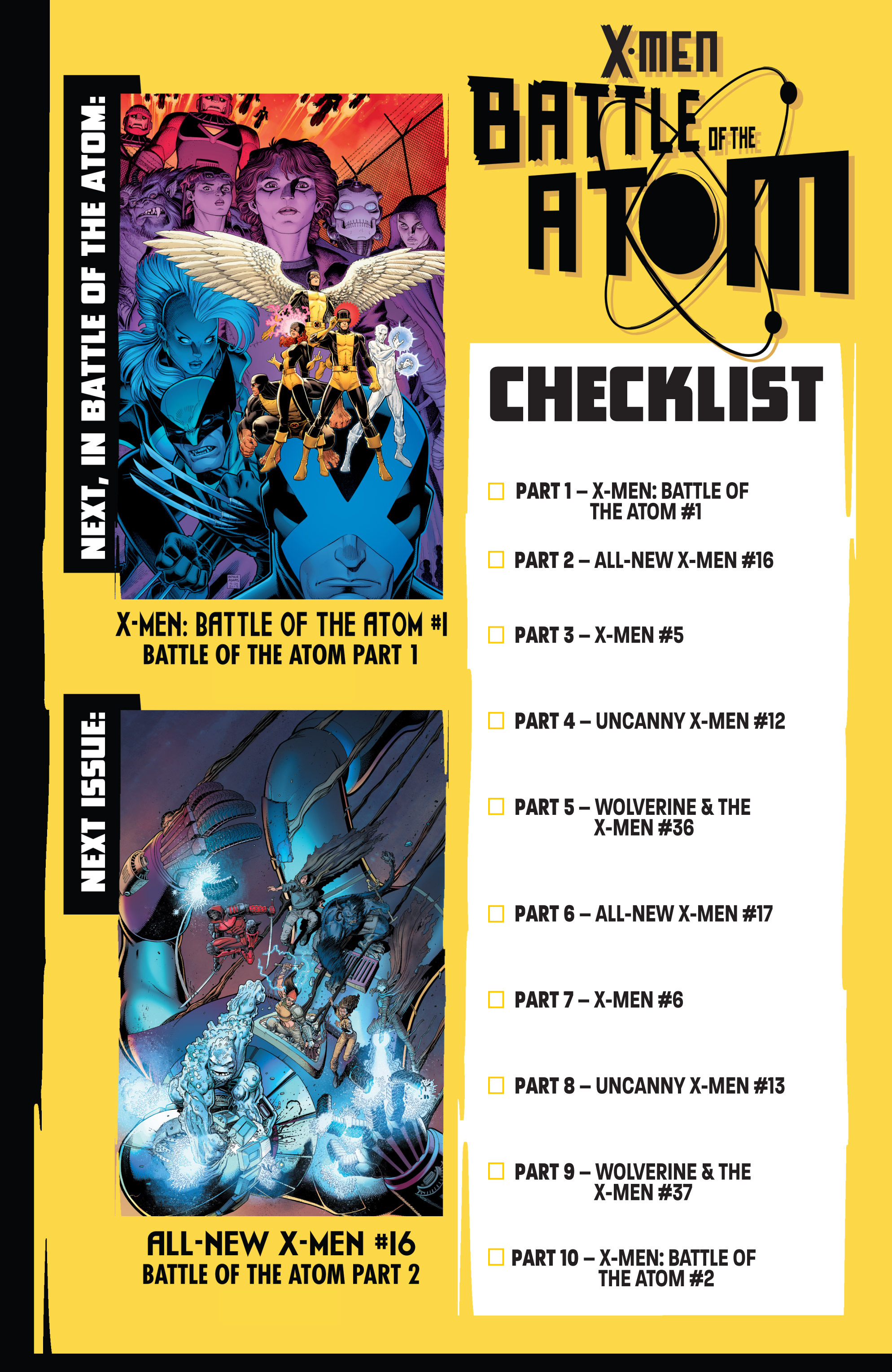 Read online All-New X-Men (2013) comic -  Issue # _Special - Out Of Their Depth - 110