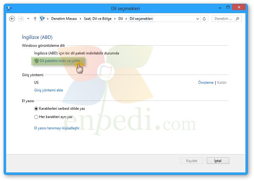 windows 8.1 ebeveyn denetimi yükle
