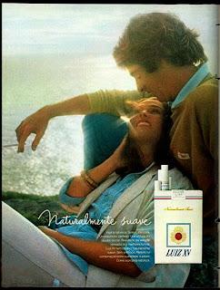 anúncio de cigarros luiz XV de 1979